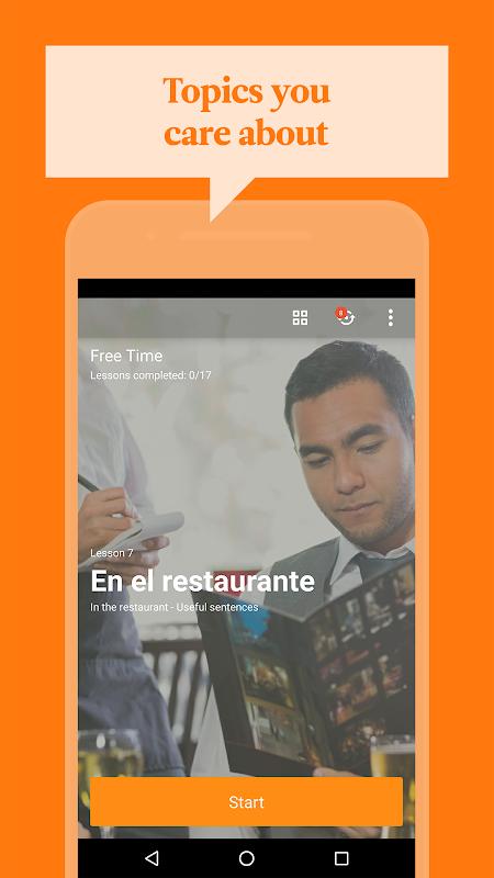 Screenshot Babbel – Learn Languages APK