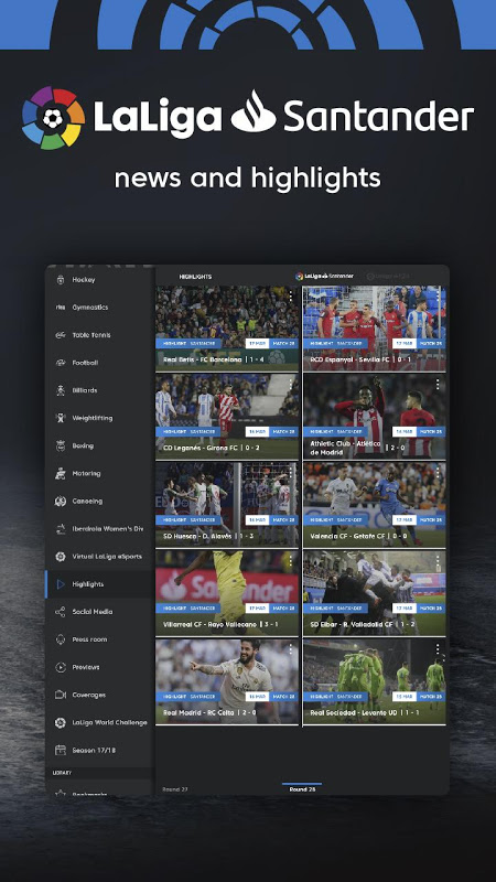 LaLigaSportstv - Official football channel in HD The App Store