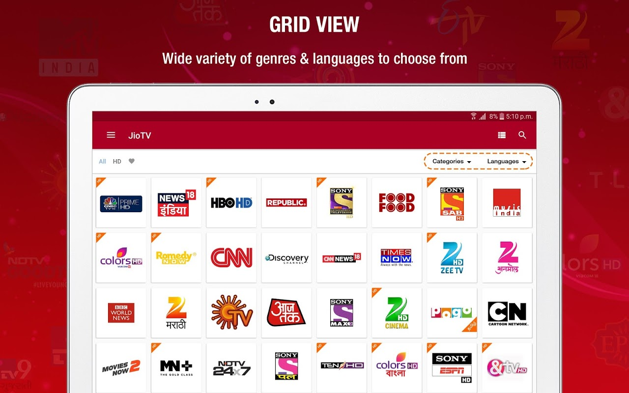 JioTV Live Sports Movies Shows The App Store android Code Lads