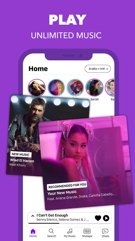 Anghami - Free Unlimited Music The App Store android Code Lads