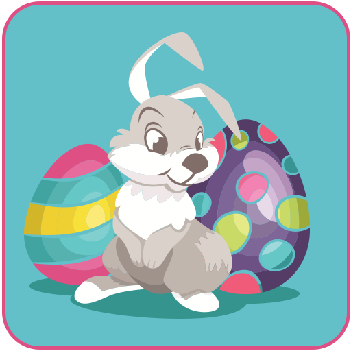Happy Easter Stickers 2018