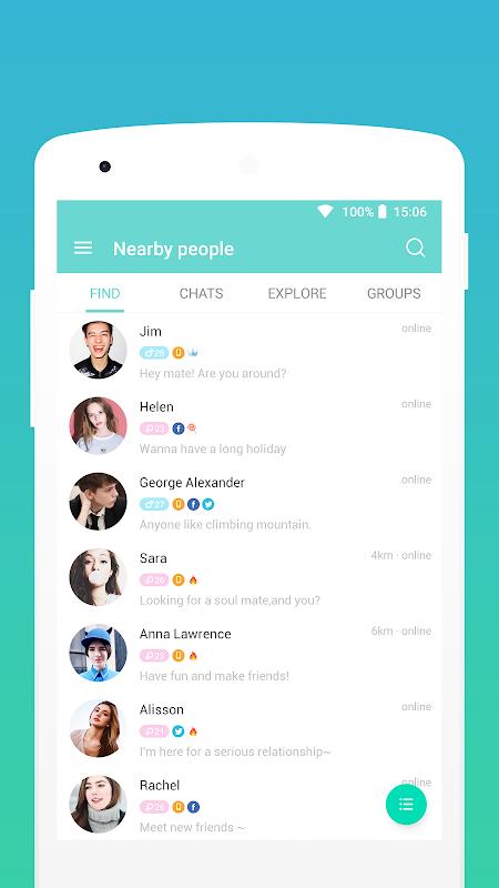 Screenshot SayHi Chat, Meet New People APK
