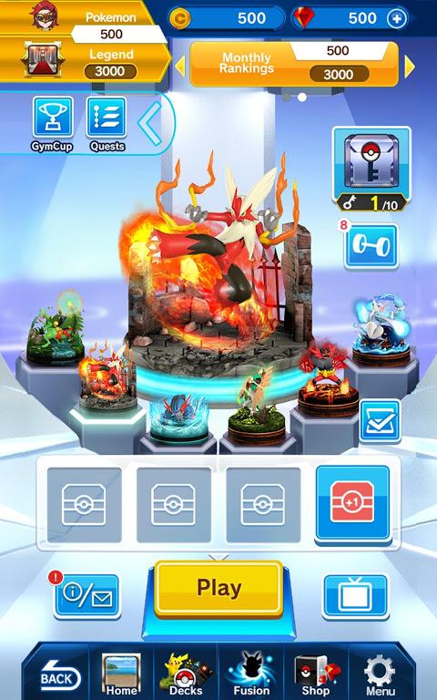 Screenshot Pokémon Duel APK