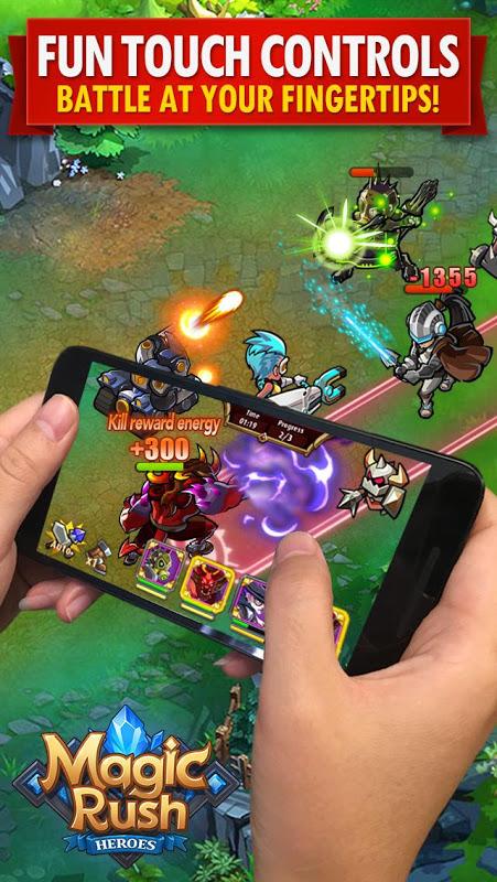 Magic Rush: Heroes The App Store