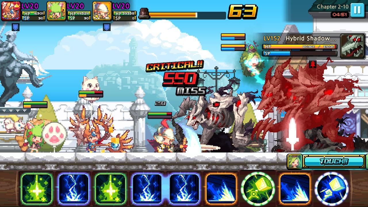 Screenshot Crusaders Quest APK