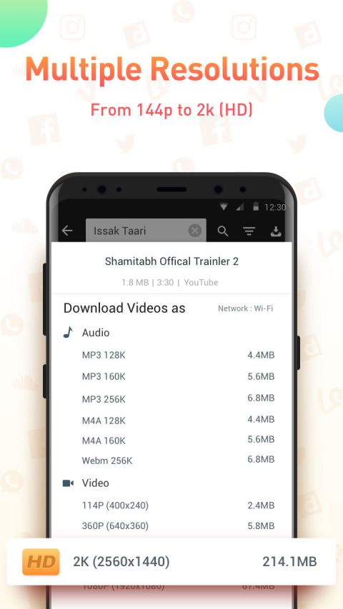 Screenshot Youtube Video Downloader - SnapTube Pro APK