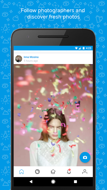 Screenshot 500px – Discover great photos APK