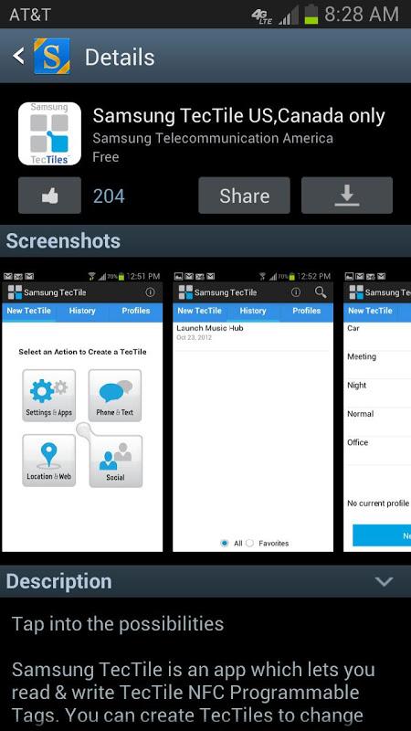 Screenshot Galaxy Apps APK