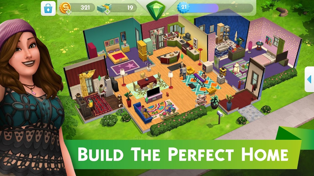 Screenshot The Sims™ Mobile APK