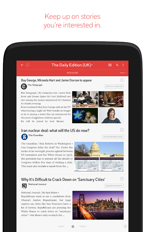 Screenshot Flipboard: News For Any Topic APK