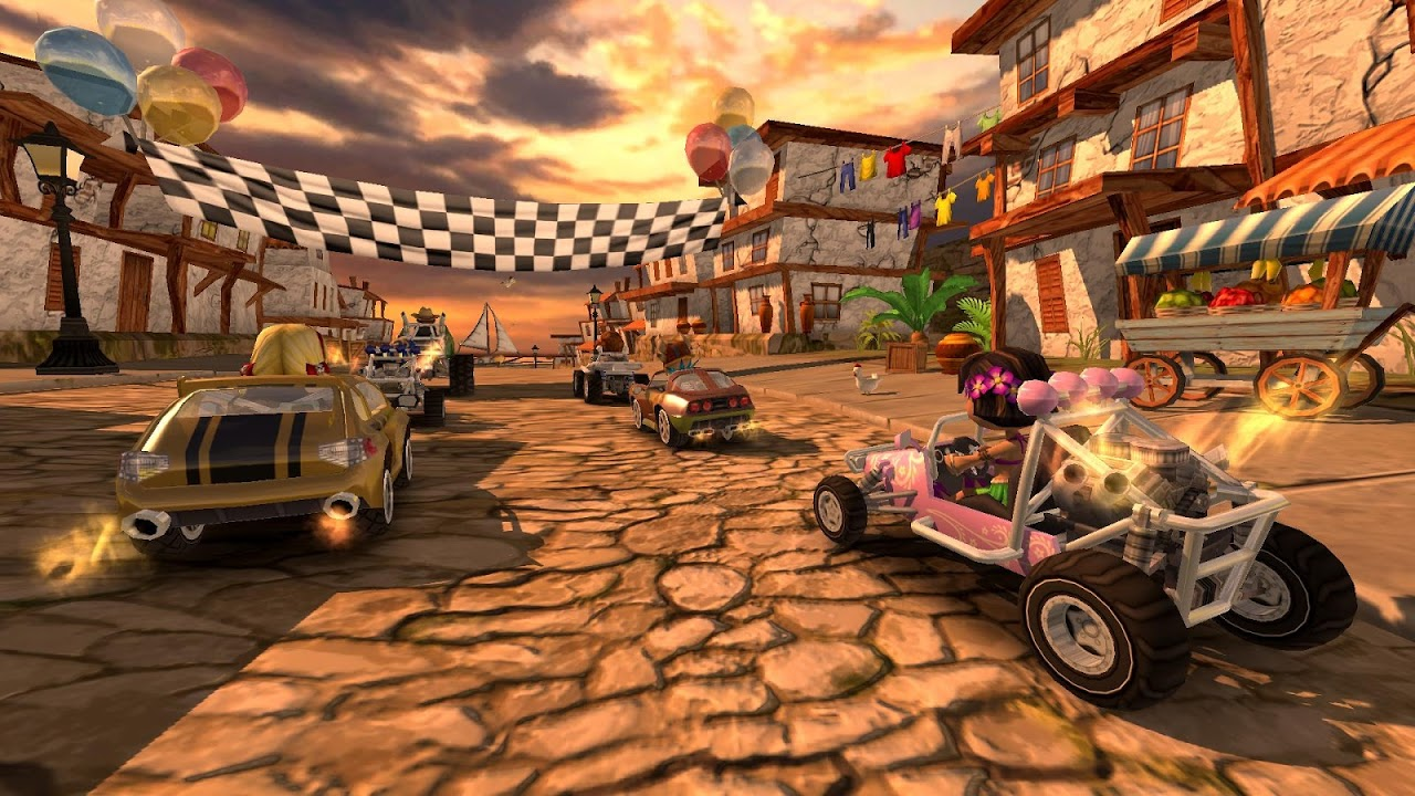 Screenshot Beach Buggy Racing APK