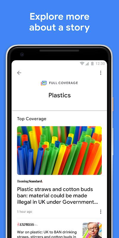 Screenshot Google Play Newsstand APK