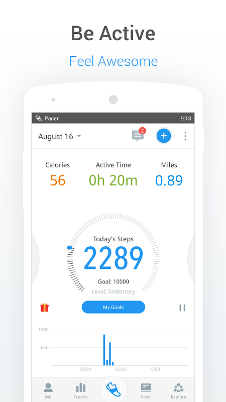 Pedometer, Step Counter & Weight Loss Tracker App The App Store