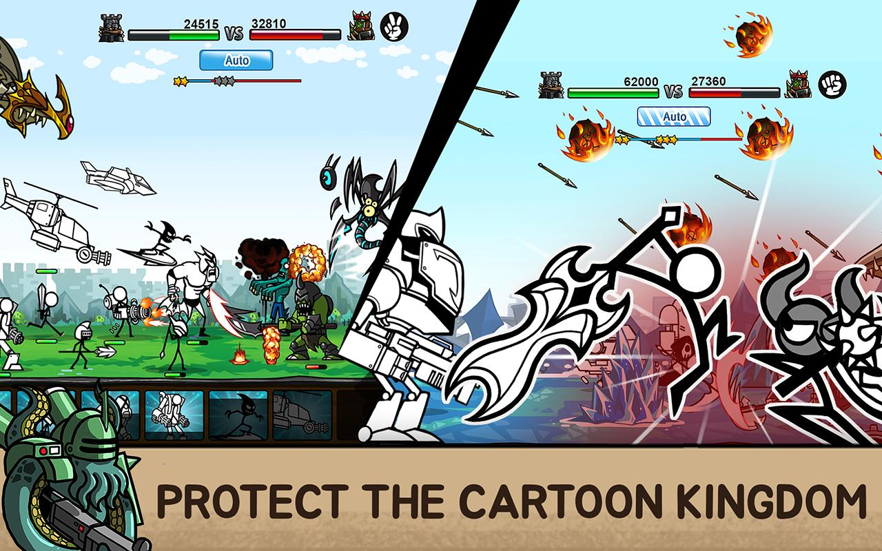 Cartoon Wars 3 The App Store android Code Lads