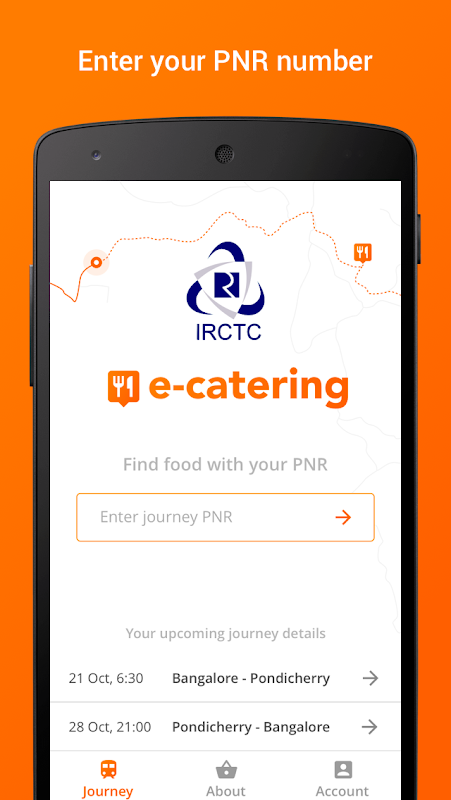 IRCTC eCatering - Food on Track The App Store