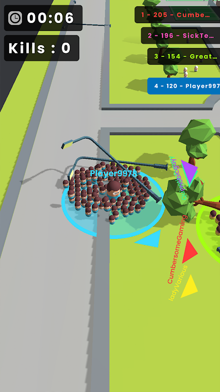 Screenshot Popular Wars APK