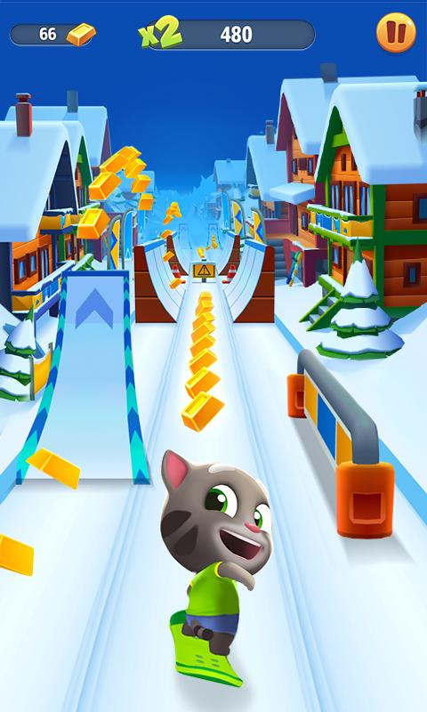 Talking Tom Gold Run 3D Game The App Store