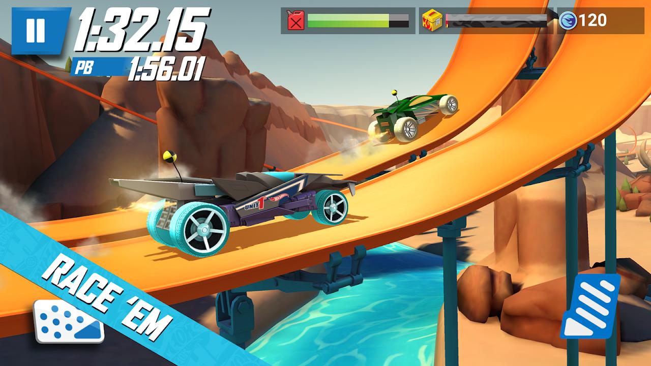 Screenshot Hot Wheels: Race Off APK