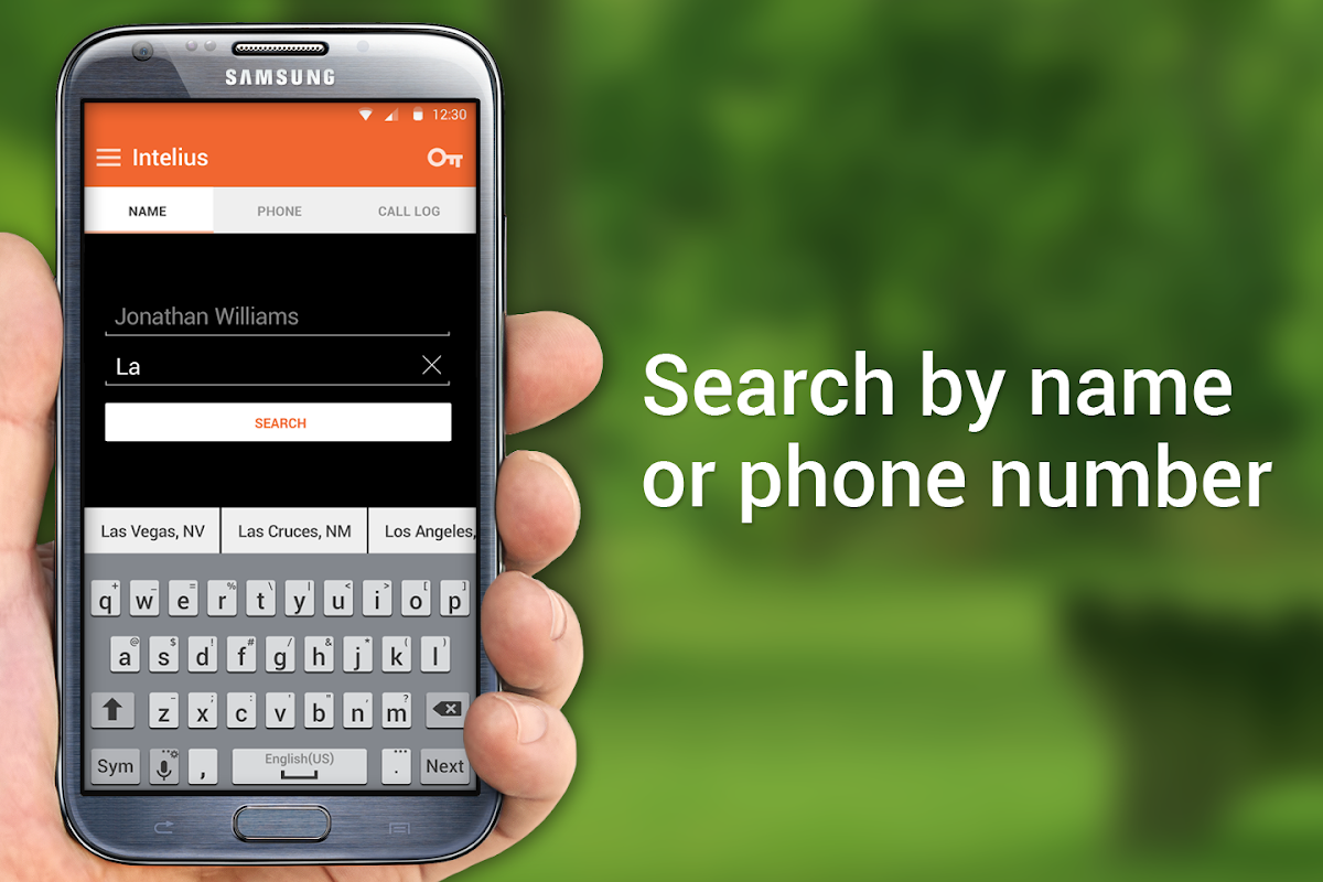 Screenshot Intelius Background Check Caller ID & Phone Lookup APK