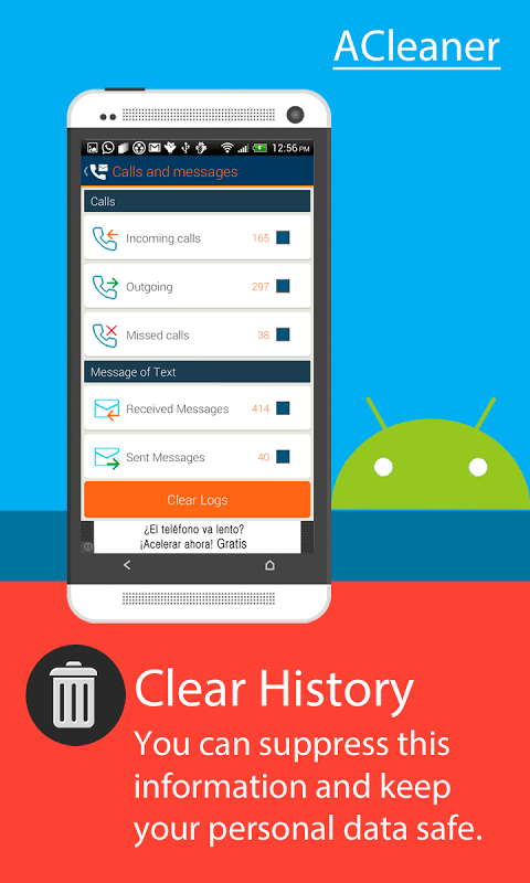 Screenshot ACleaner (Android Cleaner) APK