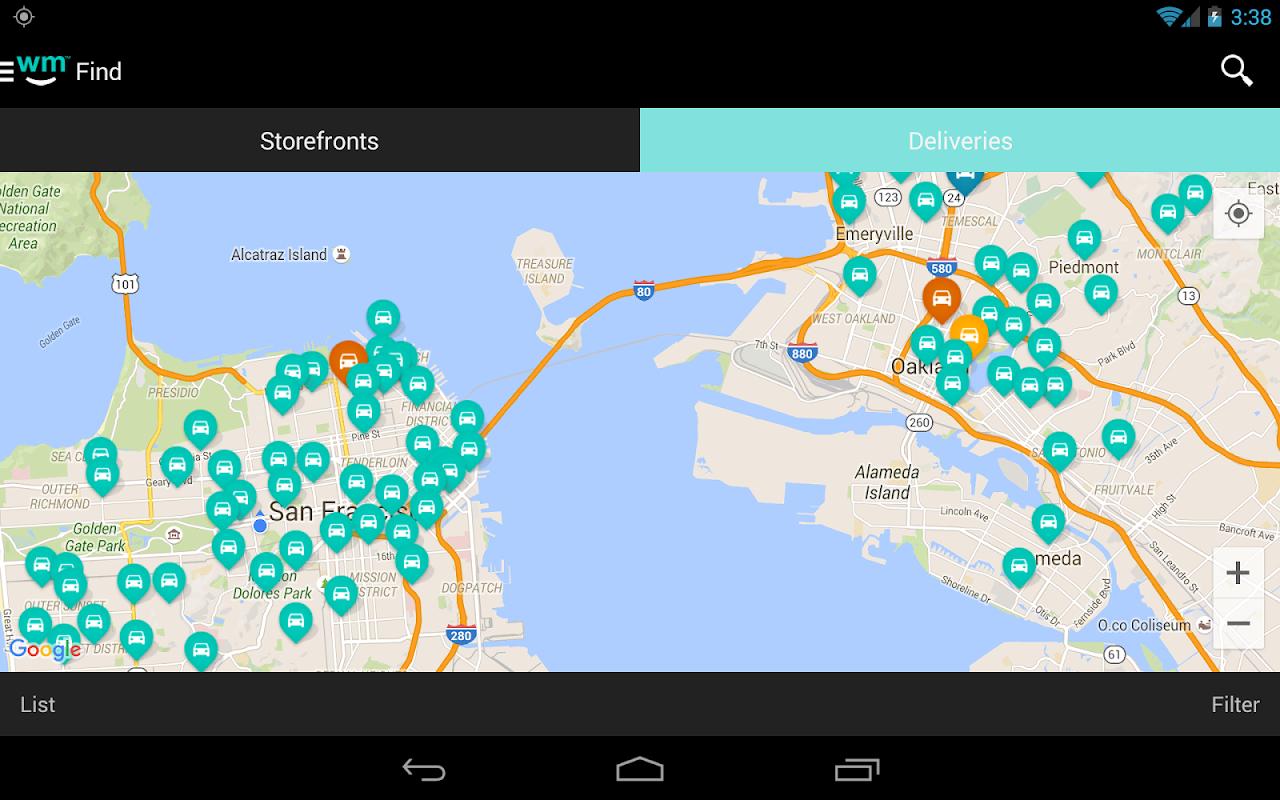 Screenshot Weedmaps Marijuana Cannabis and Weed Reviews APK