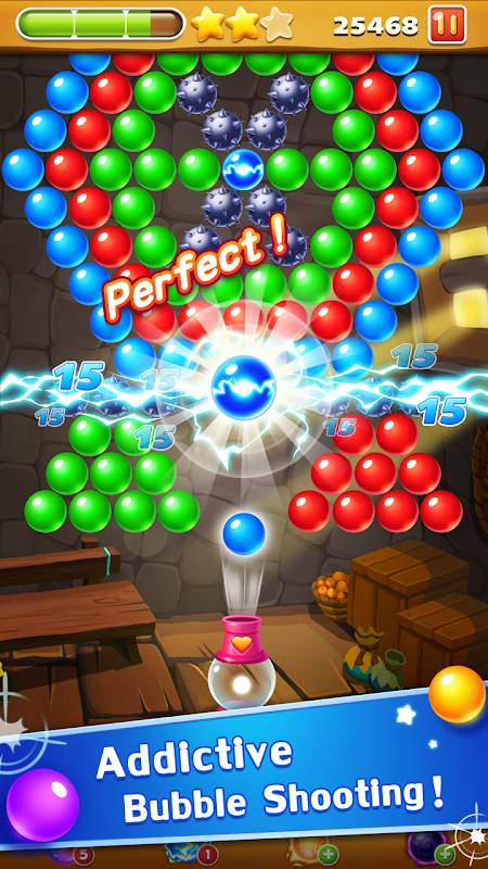 Screenshot Bubble Shooter Legend APK