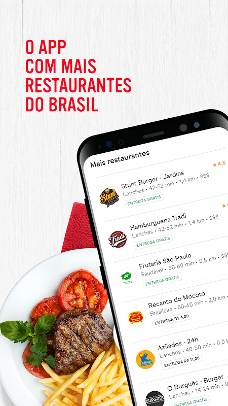 iFood - Delivery de Comida The App Store android Code Lads