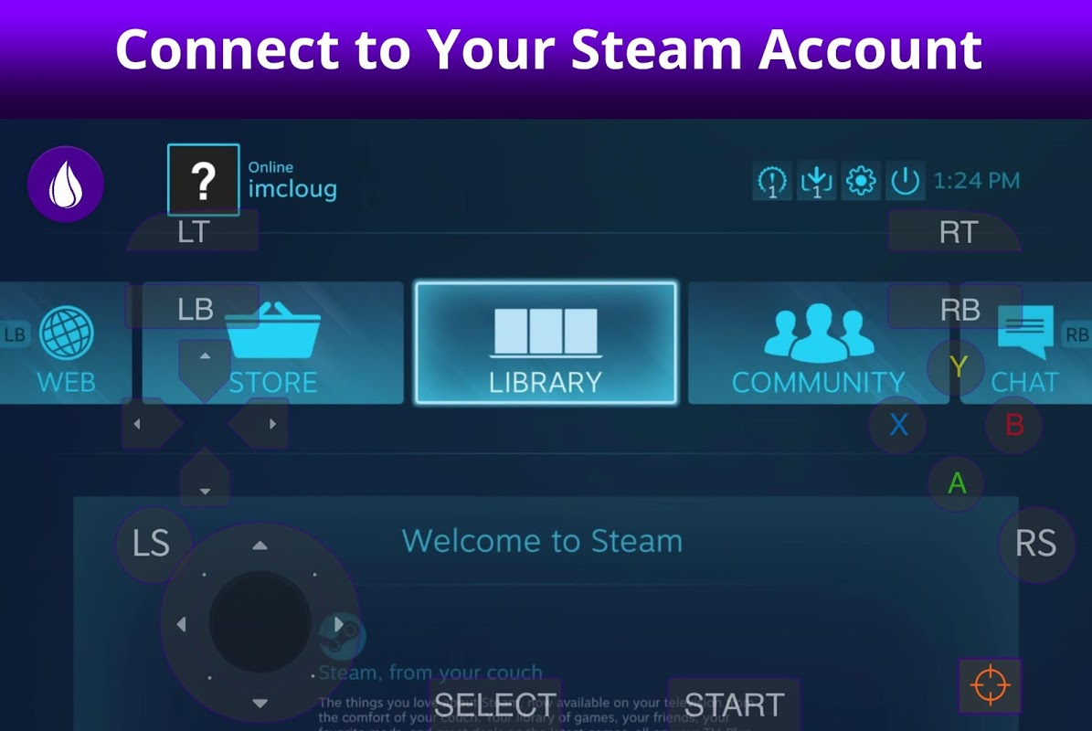 Screenshot LiquidSky PC Cloud Gaming on Android (Closed Beta) APK