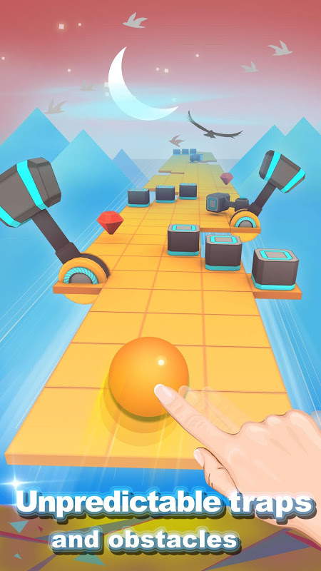 Screenshot Rolling Sky APK