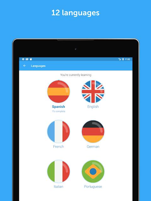 Screenshot busuu: Learn Languages - Spanish, English & More APK