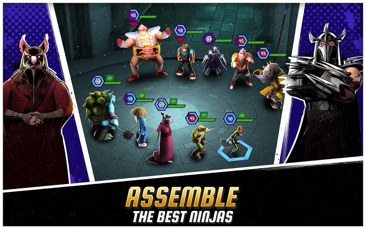 Ninja Turtles: Legends The App Store