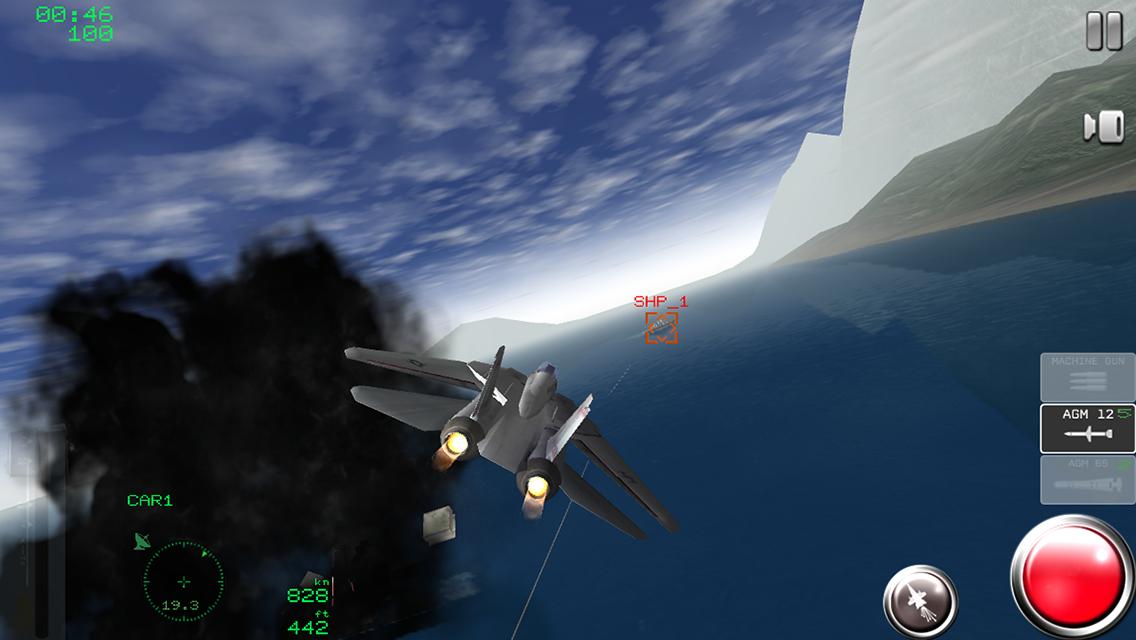 Screenshot Air Navy Fighters Lite APK