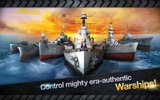 WARSHIP BATTLE:3D World War II Screen