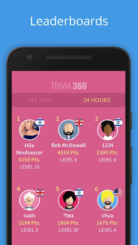 Screenshot TRIVIA 360 APK