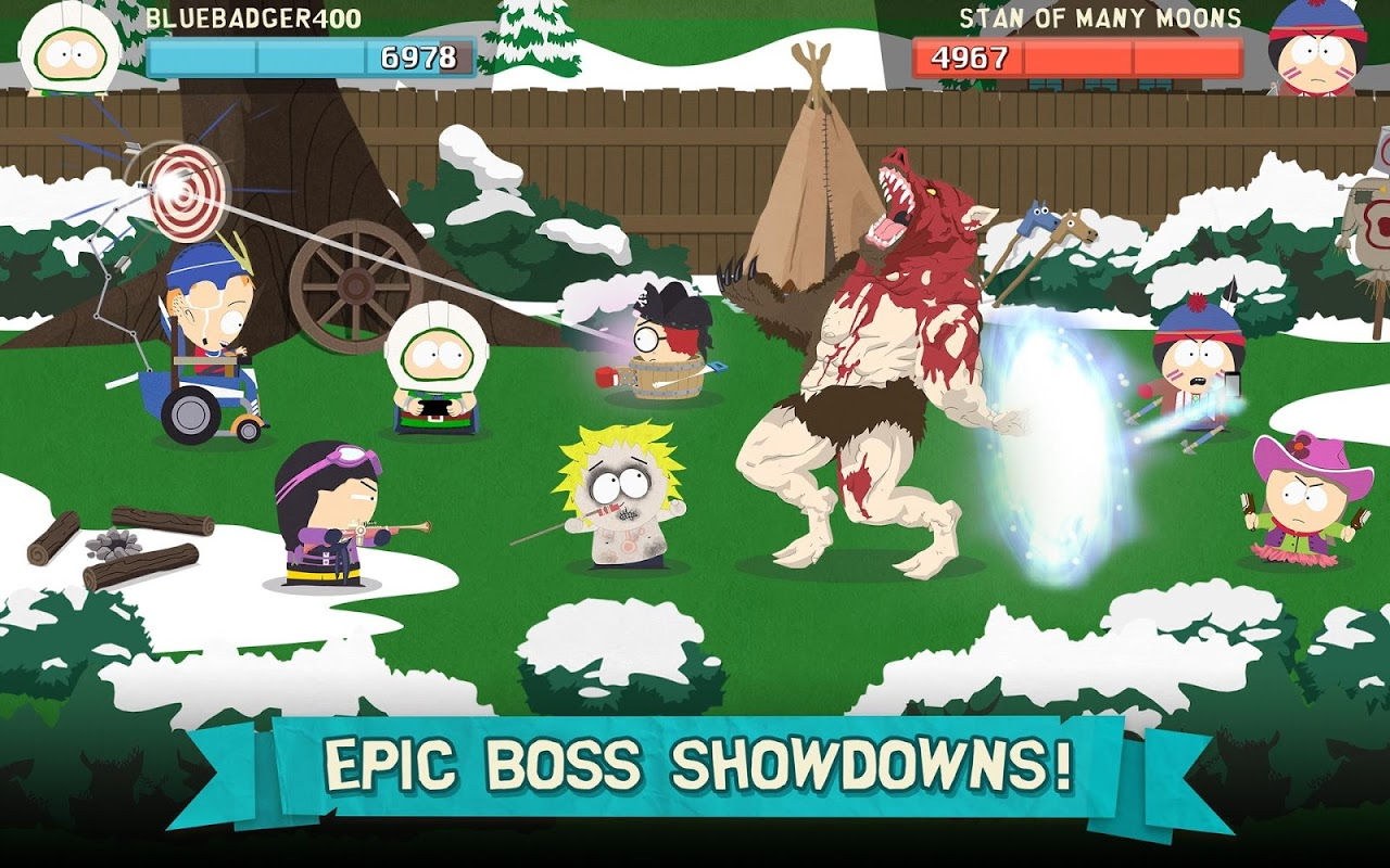 Screenshot South Park: Phone Destroyer™ APK