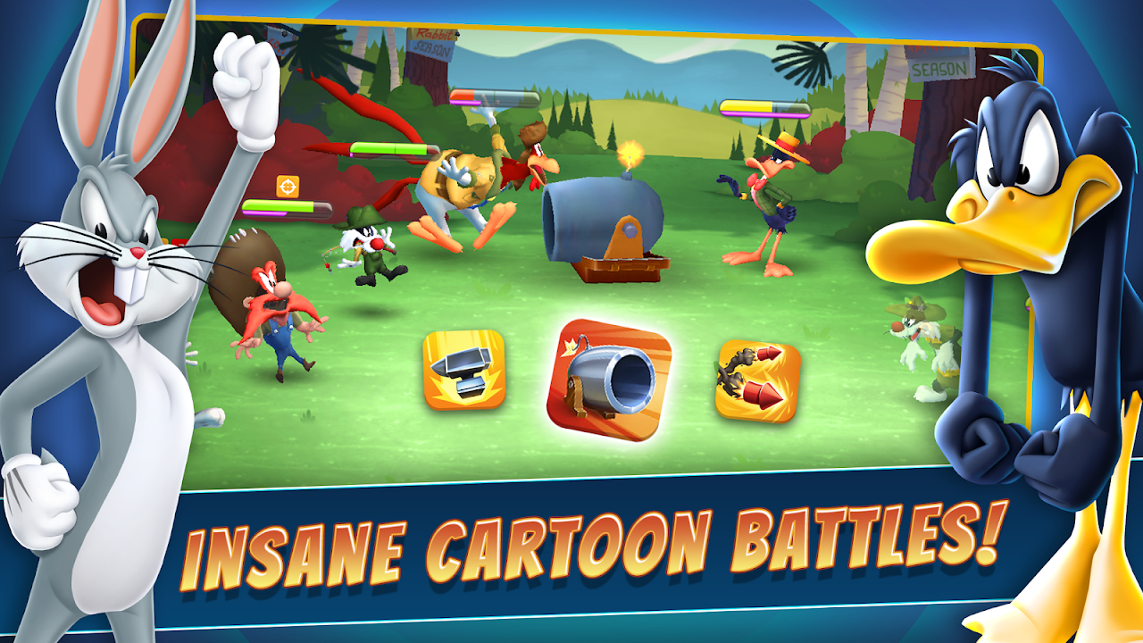 Screenshot Looney Tunes™ World of Mayhem - Action RPG APK