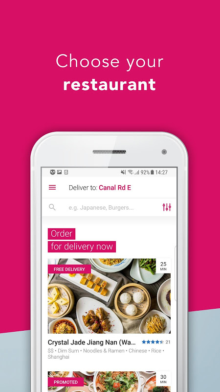 foodpanda - Local Food Delivery The App Store
