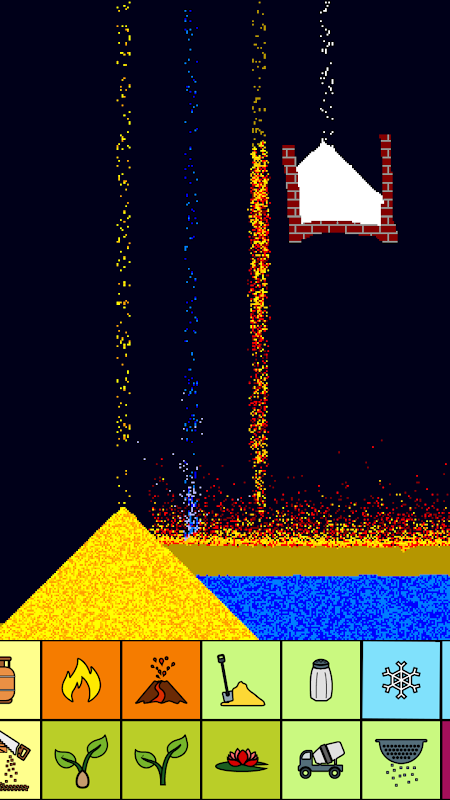 Screenshot sand:box - relaxing particle engine APK