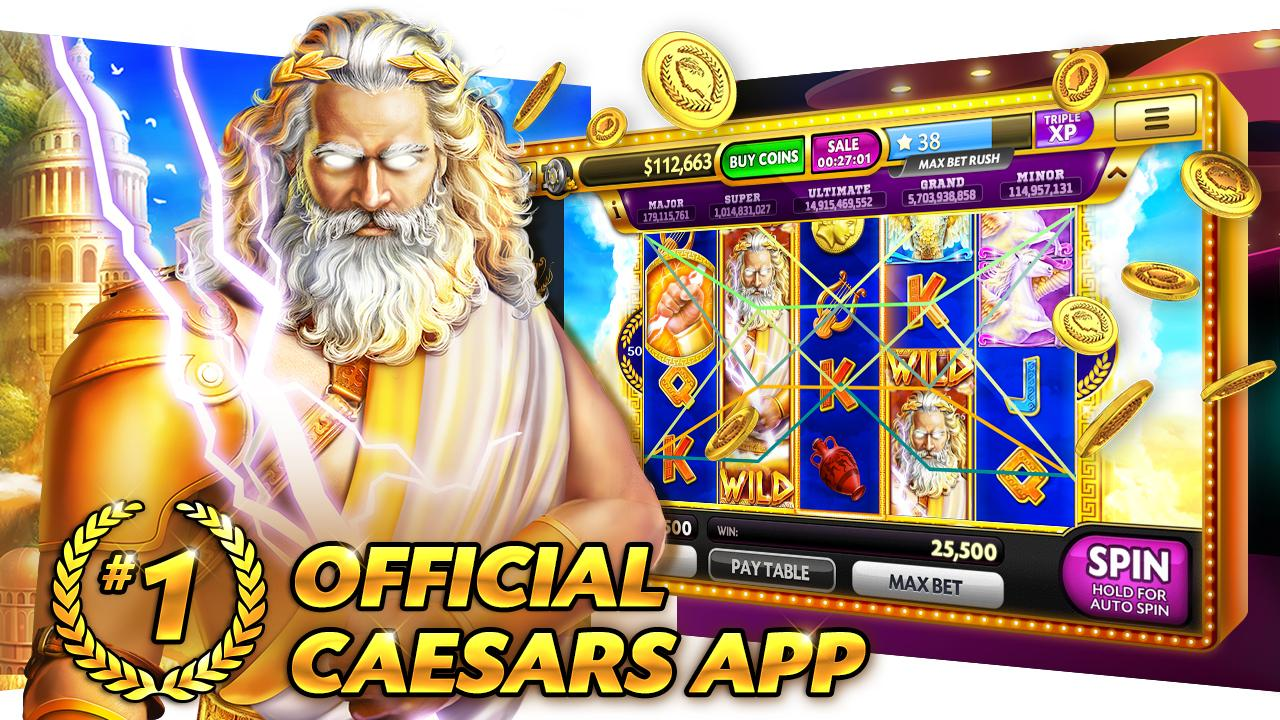 Screenshot Slots Caesars Free Casino Game APK