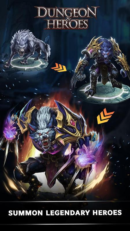 Screenshot Dungeon & Heroes APK