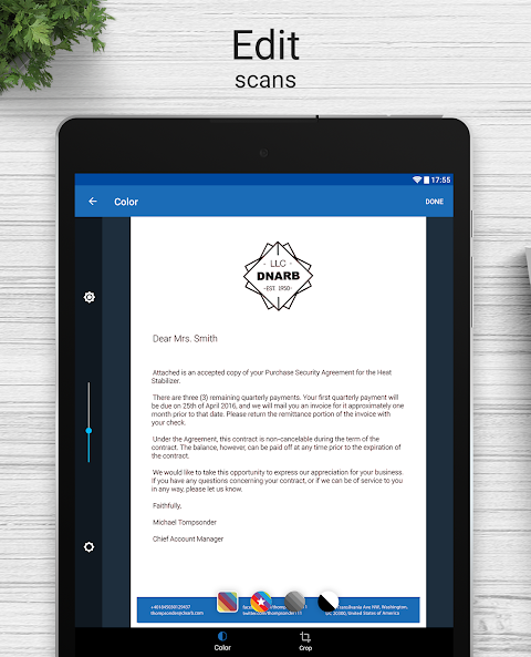 Screenshot Scanner for Me: Convert Image to PDF APK
