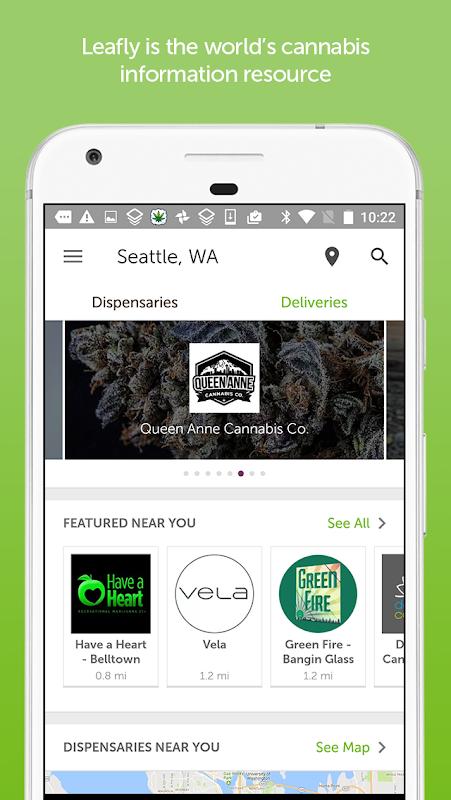 Screenshot Leafly Marijuana Reviews APK