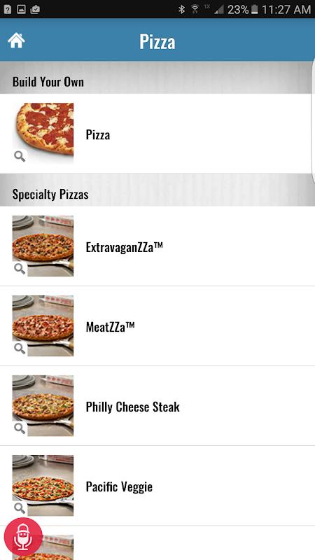Screenshot Domino's Pizza USA APK