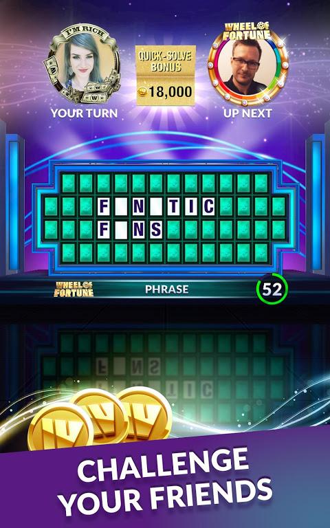 Screenshot Wheel of Fortune: Free Play APK