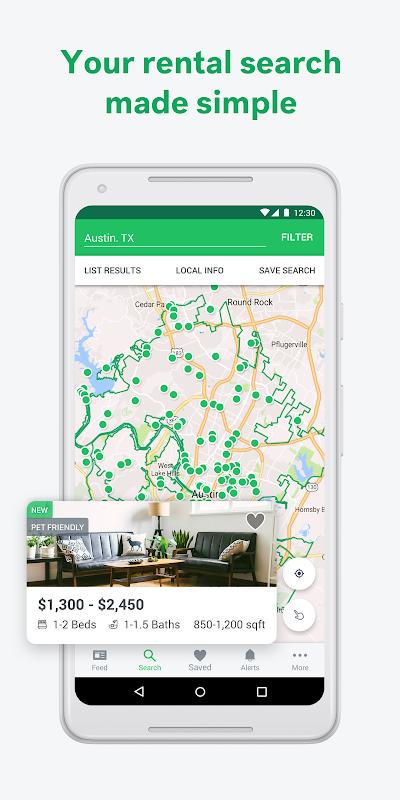 Screenshot Trulia Rent Apartments & Homes APK