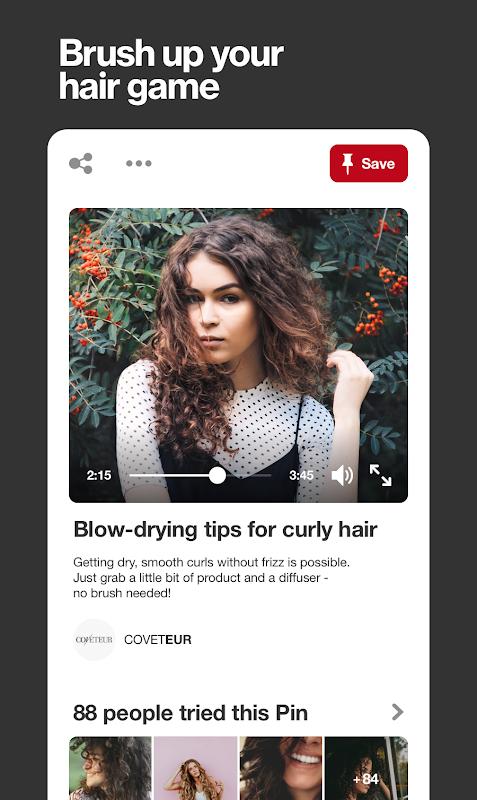 Screenshot Pinterest APK