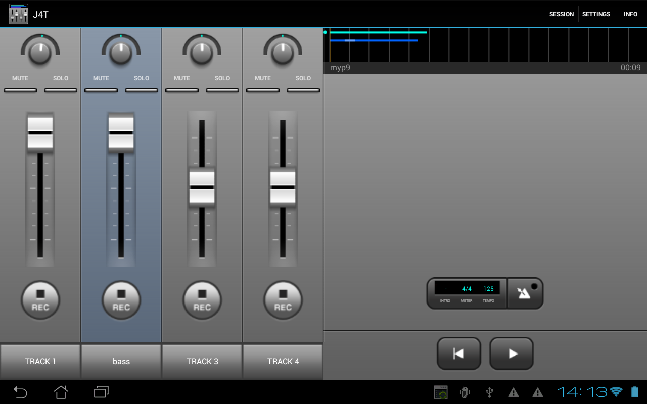 J4T Multitrack Recorder The App Store