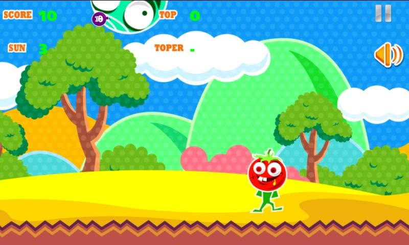 Tomato Man Dodge The App Store