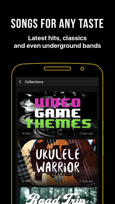 Ultimate Guitar Tabs & Chords The App Store android Code Lads