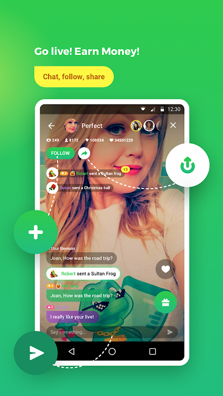 Chat,Flirt,Video, w/ Strangers & Friends: Camfrog The App Store android Code Lads